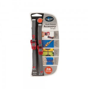 Troki Sea To Summit Accessory Strap with Hook Red 10 mm