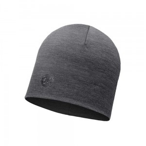 Czapka Buff Heavyweight Merino Wool Hat SOLID GREY