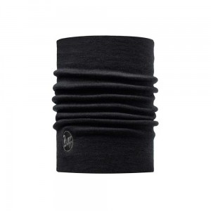 Chusta Buff Heavyweight Merino Wool SOLIDBLACK