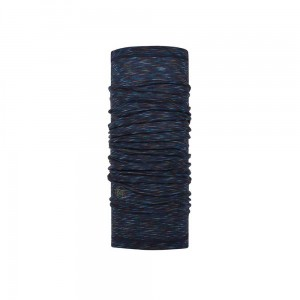 Chusta Buff Lightweight Merino Wool DENIMMULTI STRIPES