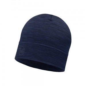 Czapka Buff Lightweight Merino Wool Hat SOLID DENIM