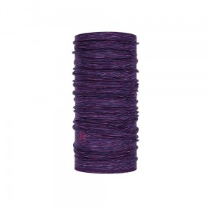 Chusta Buff Lightweight Merino Wool PURPLEMULTI STRIPES