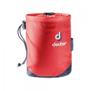 Worek na magnezję Deuter Gravity Chalk Bag I M chili-navy