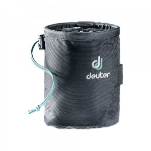 Worek na magnezję Deuter Gravity Chalk Bag I M black