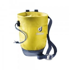 Worek na magnezję Deuter Gravity Chalk Bag II M greencurry-navy