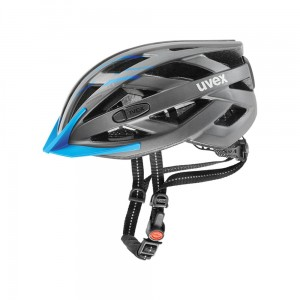 Kask rowerowy Uvex City I-vo grey-blue mat (17)