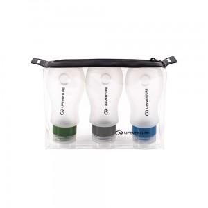 Zestaw butelek Lifeventure Silicone Bottle Set