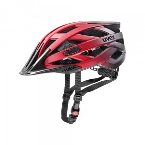 Kask rowerowy Uvex I-vo cc red-black mat (15)