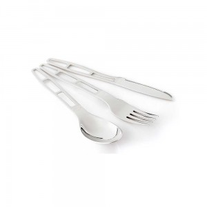 Sztućce GSI Glacier Stainless 3 PC Cutlery Set