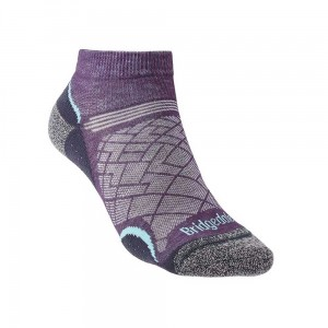 Skarpety Bridgedale Hike UL T2 Coolmax P Lady Low purple/grey S 35-37
