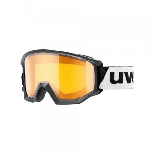 Gogle Uvex Athletic LGL black lasergold lite clear