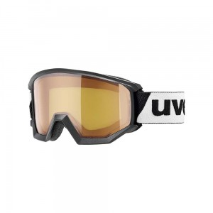 Gogle Uvex Athletic LGL black lasergold  lite blue