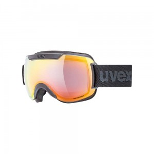 Gogle Uvex Downhill 2000 FM black mat mirror rainbow rose