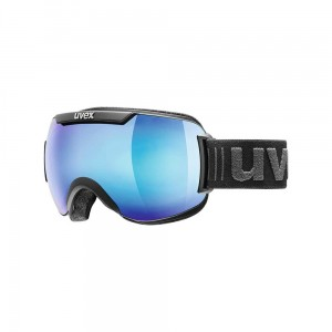 Gogle Uvex Downhill 2000 FM black mat mirror blue
