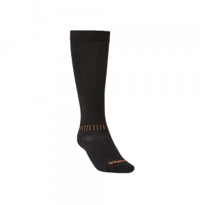 Skarpety narciarskie Bridgedale Ski Race black/orange L 44-47