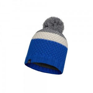 Czapka Buff Knitted & Fleece Hat Jav Olympian Blue