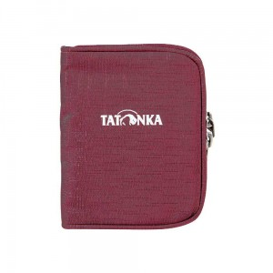 Portfel Tatonka Zipped Money Box bordeaux red