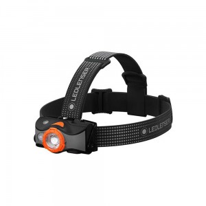Latarka czołowa Ledlenser MH7 Black/Orange