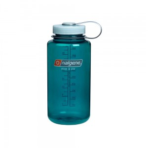 Butelka Nalgene Wide Mouth Trout Green 1 L