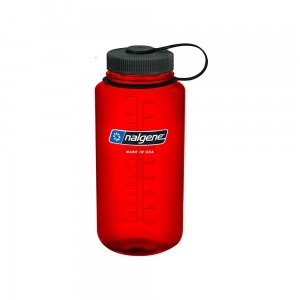 Butelka Nalgene Wide Mouth Red 1L