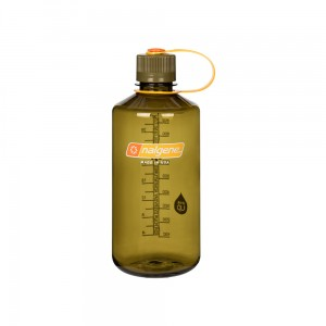 Butelka Nalgene Narrow Mouth Olive 1L