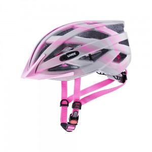 Kask rowerowy Uvex Air Wing cc grey-rose mat (15)