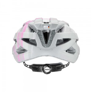 Kask rowerowy Uvex Air Wing cc grey-rose mat