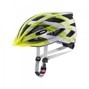 Kask rowerowy Uvex Air Wing cc grey-lime mat (15)