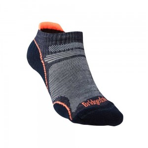 Skarpety Bridgedale Ultralight T2 Merino P Low navy/candy M 38-40