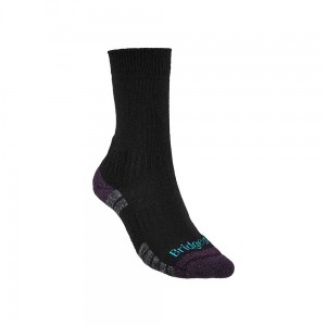 Skarpety Bridgedale Hike Lightweight Merino E black/purple M 38-40