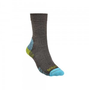 Skarpety Bridgedale Hike Lightweight Merino E brown/lime M 38-40