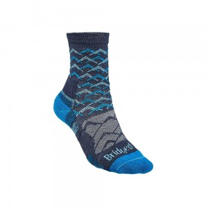 Skarpety Bridgedale Hike Lightweight Merino E 3/4 denim/blue M 38-40