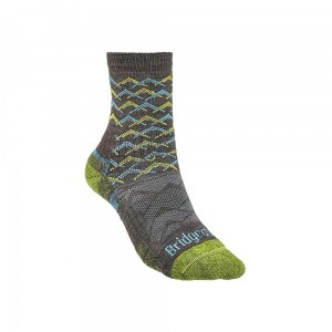 Skarpety Bridgedale Hike Lightweight Merino E 3/4 brown/lime M 38-40