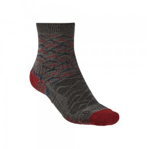 Skarpety Bridgedale Hike Lightweight Merino E 3/4 brown/dark red S 36-39