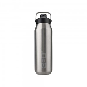 Butelka termiczna 360 Degrees Vacuum Insulated Stainless Bottle Sip Cap 1L Silver