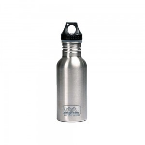 Butelka 360 Degrees Stainless Single Wall Bottle 550ml Silver