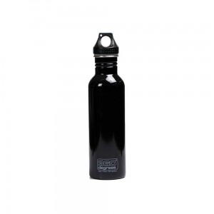 Butelka 360 Degrees Stainless Single Wall Bottle 750ml Black