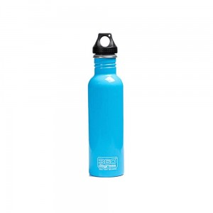 Butelka 360 Degrees Stainless Single Wall Bottle 750ml Sky Blue