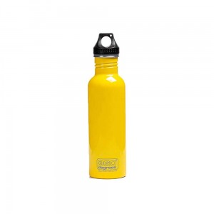 Butelka 360 Degrees Stainless Single Wall Bottle 750ml Yellow