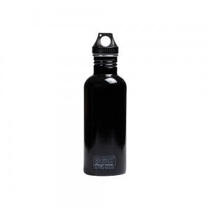 Butelka 360 Degrees Stainless Single Wall Bottle 1000ml Black