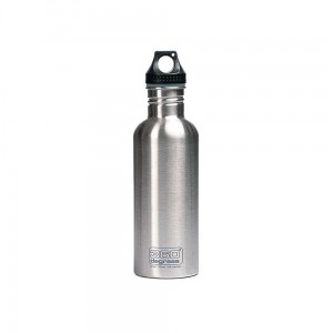 Butelka 360 Degrees Stainless Single Wall Bottle 1000ml Silver