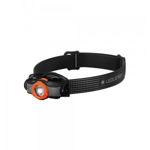 Latarka czołowa Ledlenser MH5 Black/Orange
