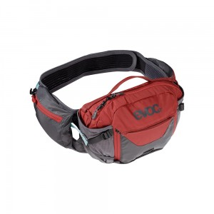 Nerka Evoc Hip Pack Pro 3 L + 1,5 L Bladder carbon grey - chili red