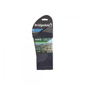 Skarpety Bridgedale Hike Ultra Light T2 Merino P navy L 44-47