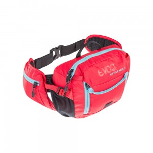Nerka Evoc Hip Pack Race 3 L + 1,5 L Red/Neon Blue