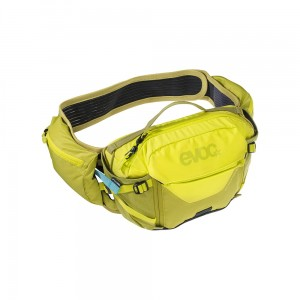 Nerka Evoc Hip Pack Pro 3 L + 1,5 L Bladder sulphur - moss green