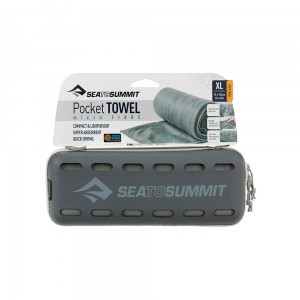 Ręcznik szybkoschnący Sea To Summit Pocket Towel X Large Grey