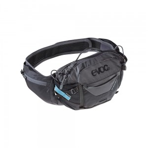 Nerka Evoc Hip Pack Pro 3 L + 1,5 L Bladder black - carbon grey