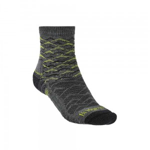 Skarpety Bridgedale Hike Lightweight Merino E 3/4 grey/lime M 40-43