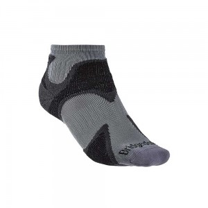 Skarpety Bridgedale Trail Sport Ultra Light T2 Merino Cool C gunmetal/black L 44-47